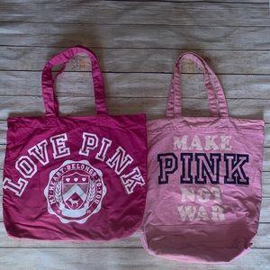 Victoria'a Secret Pink Tote Bags